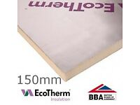 150mm EcoTherm EcoVersal PIR Insulation Board