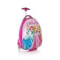 New Disney Princess Hard Shell Luggage Case 2 Wheel Official Lic