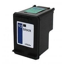Hp 92 (C9362W) Ink Cartridge Black Remanufactured