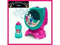 Shimmer and shine bubble machine