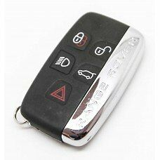 DISCOVERY 4 - 5 button Key Land Rover keyless cut and coded to car