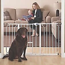 Extra wide top paw pet gates