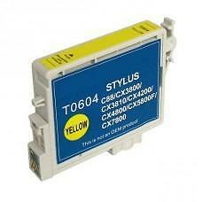 Epson T0604 (T060420) Ink Cartridge Yellow (Canada Only) New Compatible
