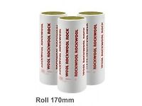 Rockwool Loft Insulation 170mm thick x 23 rolls available