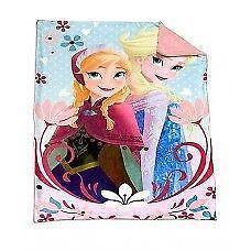 Disney Frozen Anna Elsa Cozy Throw Blanket 40 X 60 in Soft & Coz