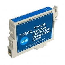 Epson T0602 (T060220) Ink Cartridge Cyan (Canada Only) New Compatible
