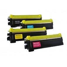 4 Pack BK/C/Y/M Combo Brother TN210 Toner Cartridge New Compatible