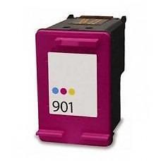 HP 901XL (CC656A) Ink Cartridge Tricolor Remanufactured