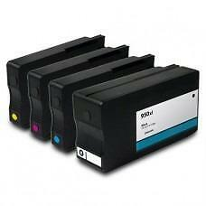 5 Pack BK/C/Y/M Combo Hp 950XL(CN045AN) Ink Cartridge Remanufactured
