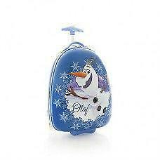 New Disney Frozen Olaf Kids Luggage - Wheeled Hard Bag  Official