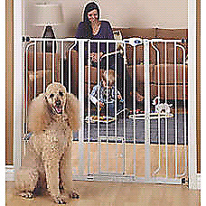 Top paw extra tall dog gate