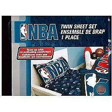 Exclusive NBA Collection Sheet 3 Pcs Twin Set Official Licensed