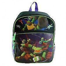 "New Ninja Turtles 16"" Backpack Official Licensed"