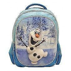 "New Disney Frozen Deluxe Olaf 3D 16"" Backpack Official Licen"