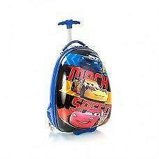 New Disney Cars Mach Speed Hard Shell Luggage Case 2 Wheel Offic
