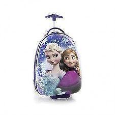 New Disney Frozen Elsa Anna Wheeled Hard Bag Luggage Official Li