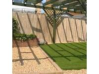 Artificial grass (supplied & fitted) garden services,landscaping services