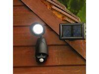 9 LED Solar Security Light With Motion Sensor - Brand New - Kilmarnock Area