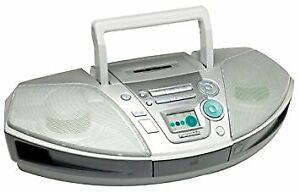 Panasonic Radio Cassette CD boombox with remote control