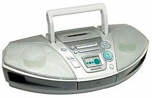 Panasonic Radio, Cassette player recorder CD player with remote