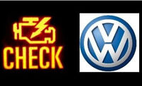 VW Audi check engine light