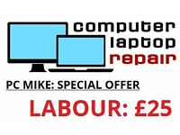 COMPUTER SAYS NO: PC MIKE SAYS YES: LAPTOP AND COMPUTER REPAIRS