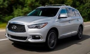 Luxury Infiniti QX60 2017 SUV Lease Takeover