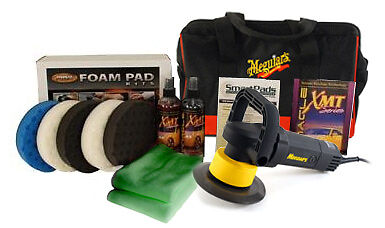 Meguiars G110v2 Dual Action Complete Kit - buffer polisher lake country CCS pads