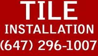 ◦If you need tile Work◦◦