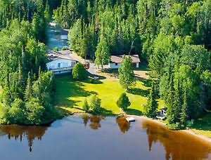 Beautiful Home on Hawkeye Lake
