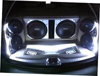 INSTALLATION OF YOUR OWN CAR AUDIO SYSTEM  (1 AMP)