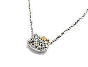 4fdf7bc5e Hello Kitty Diamond Necklaces
