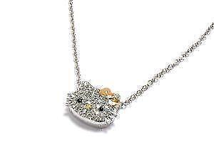 Hello kitty diamond ebay hello kitty diamond necklaces mozeypictures Gallery