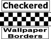 Checkered Wallpaper Border