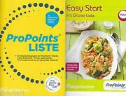 Weight Watchers Pro Points Liste