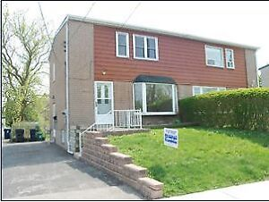3 +1 Bdrm House Close to Warden Subway Back on Ravine for Rent