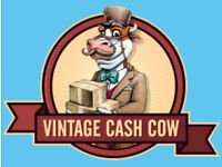 Come and help us grow Vintage Cash Cow. Customer Service and Administration Assistant now needed.