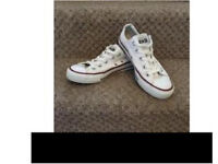 Ladies white Converse size 4