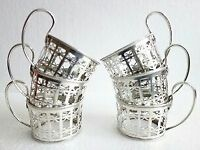 Silver Cup/ Glass holders 1933