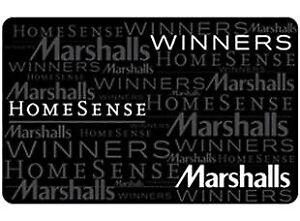 Homesense/Marshall's/Winners gift card
