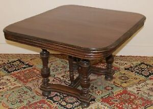 Colonial Style Antique  Oak Table