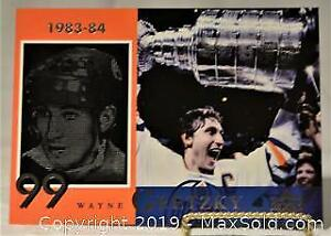 WAYNE GRETZKY Upper Deck hockey card put out by McDonalds in 1998