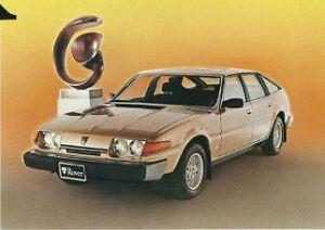 Two, 1980 Rover SD1, 3.5 litre, V8, LT77 5 speed