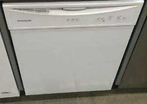 Brand new frigidaire dishwasher in white