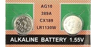 AG10 389A CX189 LR1130W Batteries - **NEW** London Ontario image 1