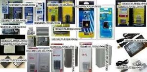 !!Kinds of Brand Name New Battery/Chargers For Cameras/Camcorder