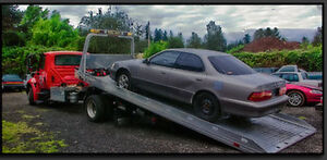 scrap removal free towing and we pay depend on car