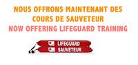 COURS DE SAUVETEURS - LIFEGUARD COURSES