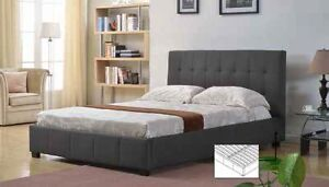 Platform Bed (IF-137) (Iseries Mattresses Serta Perfect Sleepers