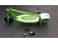 RAZOR E200 ELECTRIC SCOOTER WITH CHARGER - LIME GREEN EDITION